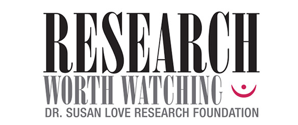Research worth watching logo, Dr Susan Love, Breast Feeding